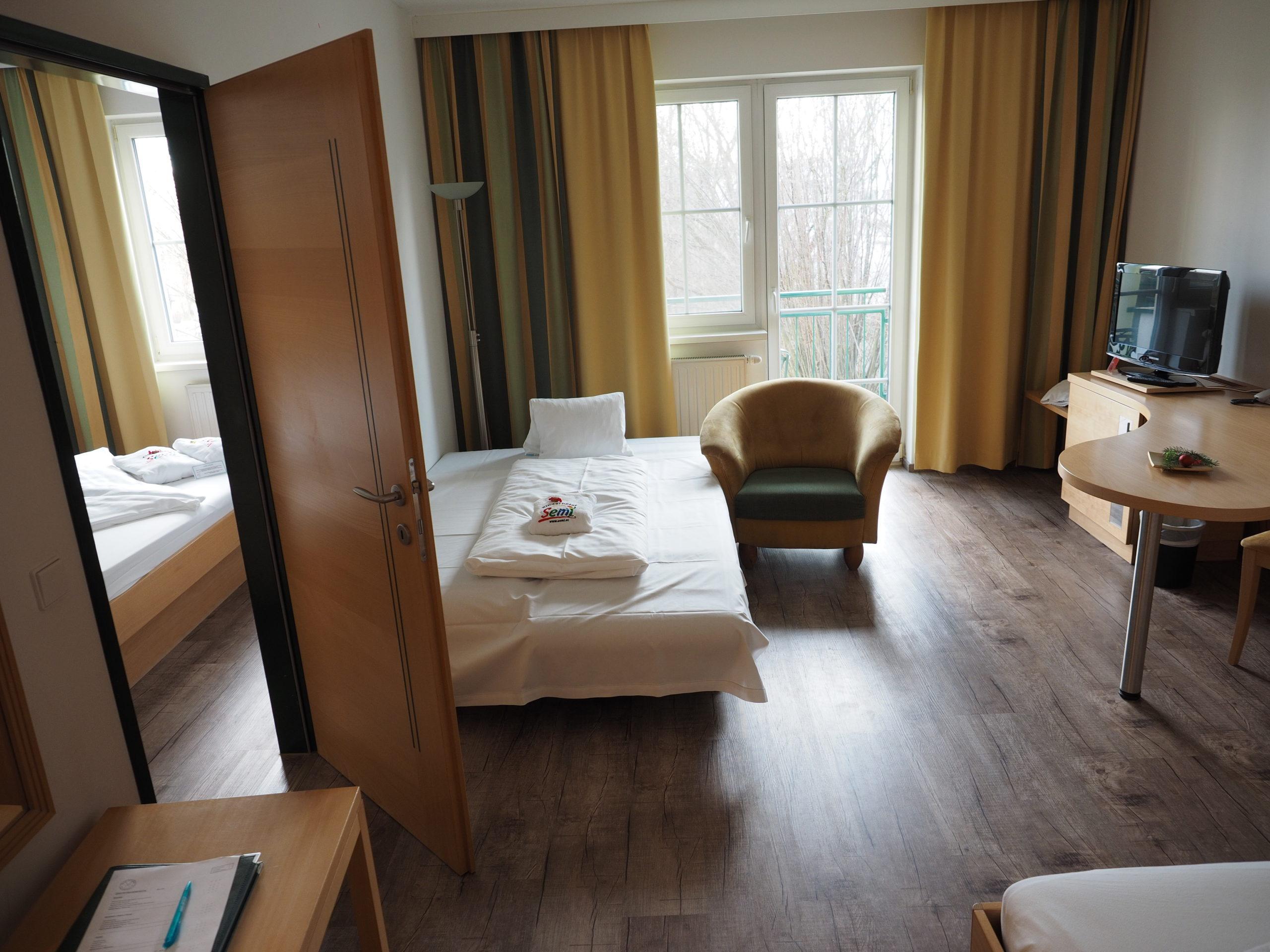 Familienzimmer des Hotel Xylophon in Lutzmannsburg