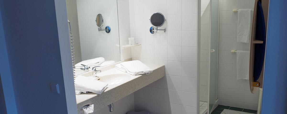 Badezimmer vom Hotel Xylophon in Lutzmannsburg