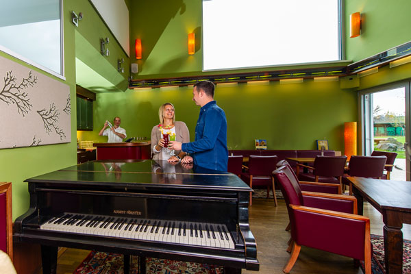 Hotel Xylophon Getränke und Bar auch für die Zeit zu zweit beim Thermenbesuch in der Sonnentherme Lutzmannsburg