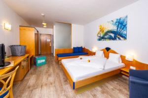 Doppelzimmer im Hotel Xylophon in Lutzmannsburg