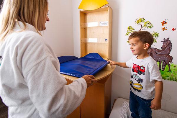 individuelle Ausstattung für Babys und Kinder im Hotel Xylophon bei der Sonnentherme Lutzmannsburg
