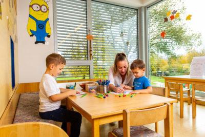 umfangreiches Programm für Kinder im Hotel Xylophon bei der Sonnentherme Lutzmannsburg